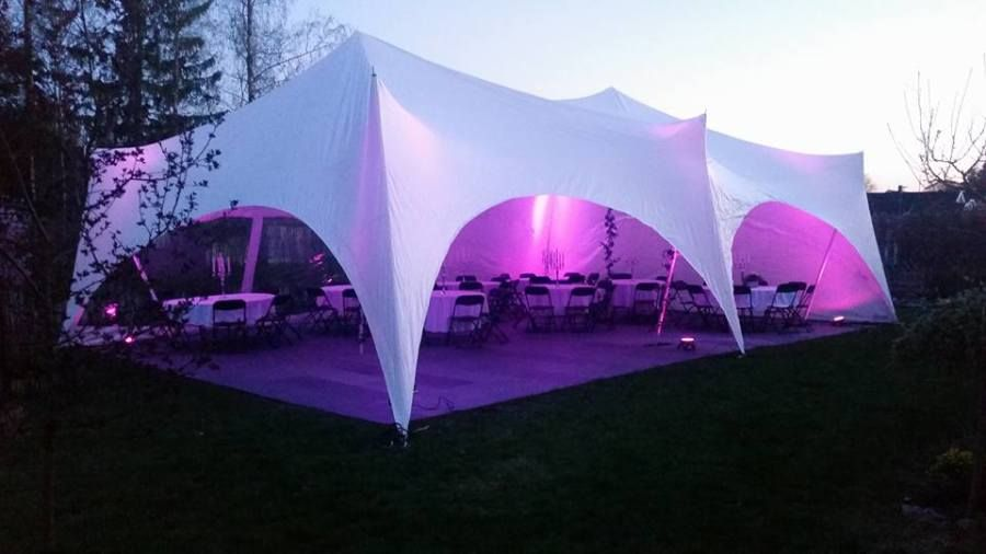 telt til bryllup pris